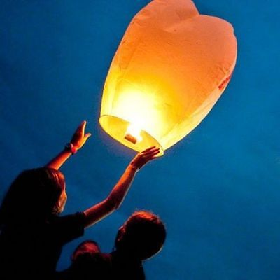 Chinese Paper Lantern Hot Air Sky Flyer - Candle Lamp Wish Balloon - Party Event