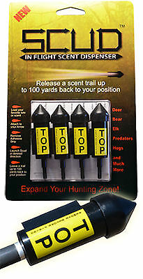 Scud ARCHERY- In Flight Scent Dispenser 4pk