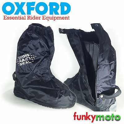 Oxford Waterproof Overboot Motorcycle Atv Quad Scooter Pair Strong Winter
