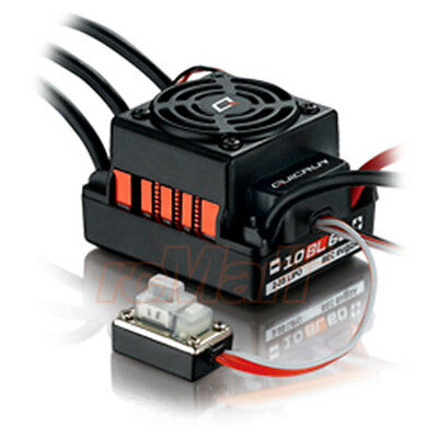 Hobbywing QuicRun 1:10 Brushless WaterProof 60A ESC Car On Off Road #WP-10BL60