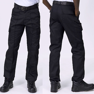 "Uneek Mens Cargo Trousers Work Wear Pants - Waist Sizes 28"" - 52"" (UC902)"