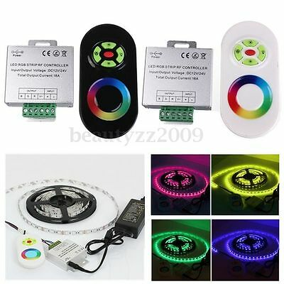 12-24V Wireless RF RGB LED Moudle Luz Tira Dimmer Controller Touch Panel Remote