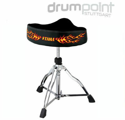 Tama HT-530CFE Flame Ltd First Chair Drumsitz Hocker Stoff Sattelsitz  *TOPDEAL*