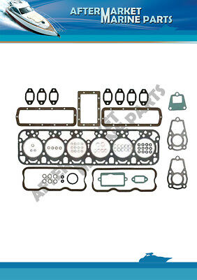 Volvo Penta AQD32A MD32A decarb gasket set replaces 876416 875438
