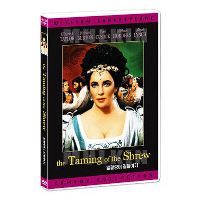 The Taming of the Shrew (1967) DVD - Elizabeth Taylor (New *Sealed *All Region)