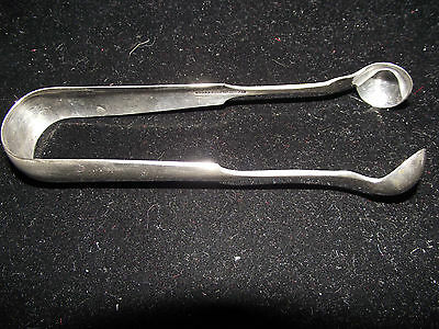 Antique U.S. Coin Silver Serving/Hors D'Oeuvre/Sugar Tongs/Excellent Condition