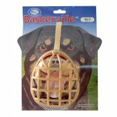 Baskerville Dog Muzzle Basket Cage Company of Animals (Size 13 Mastiff)