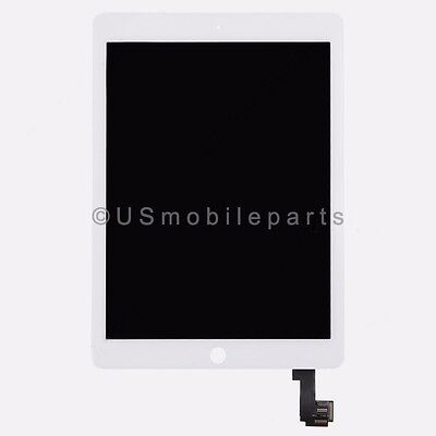 White Touch Screen Digitizer LCD Display Screen Assembly for iPad Air 2 2nd Gen