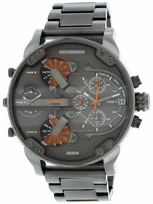 Diesel Men's Mr. Daddy DZ7315 Gunmetal Stainless-Steel Quartz Watch