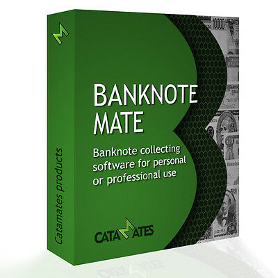 Banknote Mate - The Banknote Collecting Software