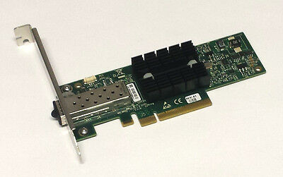 Mellanox ConnectX-2 PCIe x8 NIC 10 Gigabit 10GBe SFP+ Single Port Server Adapter