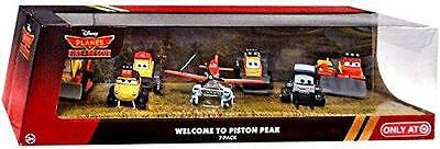 Disney PLANES Fire & Rescue Die Cast 1:55 7- Gift Pack Welcome to Piston Peak