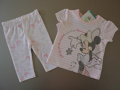 DISNEY Gorgeous Pink MINNIE MOUSE PJ's...so Cute!! NWT