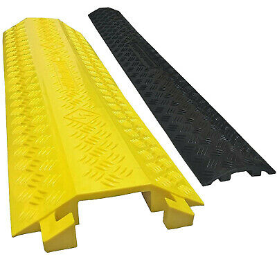 Polyurethane Pedestrian Warehouse Electrical Wire Cover Cable Protector Ramp
