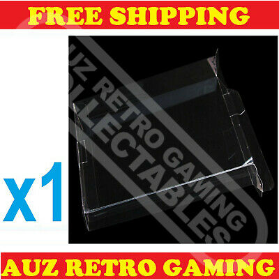 1x Thick GAME BOX PROTECTORS Cases For NES Original Nintendo BOXED Games