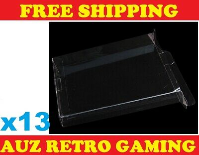 5x Thick GAME BOX PROTECTORS Cases For NES Original Nintendo BOXED Games