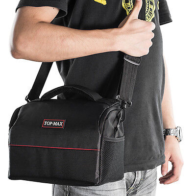 DSLR Portable Camera Shoulder Messenger Bag Case for Canon Nikon Sony