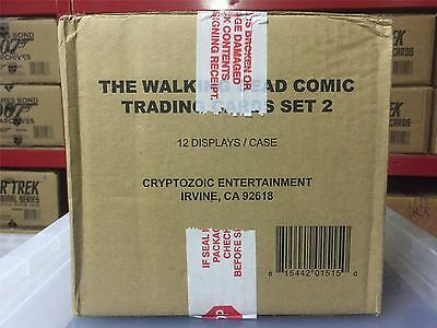 The Walking Dead Comics 2 Factory Sealed Case [Contains 12 Boxes]