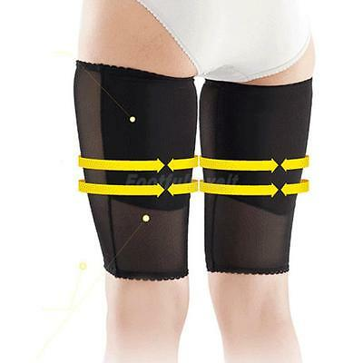 1 Pair Compression Tight Thigh Leg Support Slimming Sleeves Wraps Brace M