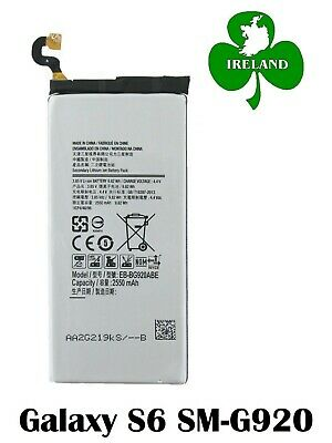 New Genuine Internal Battery For Samsung Galaxy S6 G920 Replacement Eb-Bg920Abe