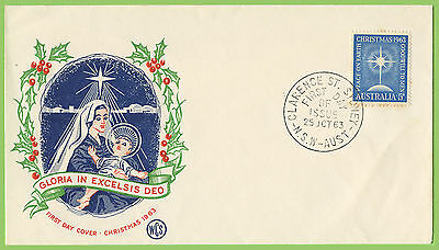 Australia 1963 Christmas 5d issue on WCS First Day Cover Sydney h/s