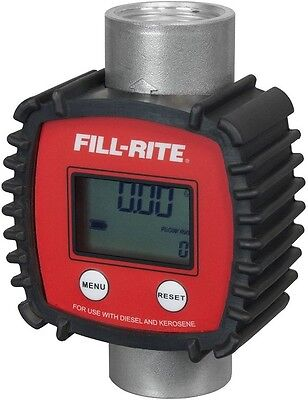 Fill-Rite FR1118A10 In-line Digital Flow Meter, Aluminum