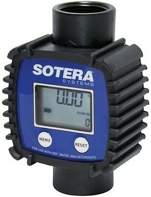 Fill-Rite FR1118P10 Sotera In-Line Digital Meter, 70 PSI, 3-26 GPM