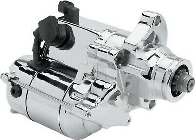 Chrome Starter Motor 1.4kW for Harley Big Twin 07-17 2110-0248 Drag Specialties