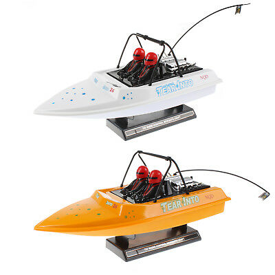 RC Radio Remote Control NQD Tear Into Jet Boat Proportional Steering Ready To Go