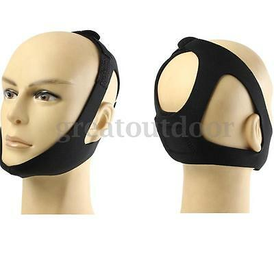 Stop Snoring Chin Strap Snore Belt Anti Apnea Jaw Solution Sleep TMJ Support