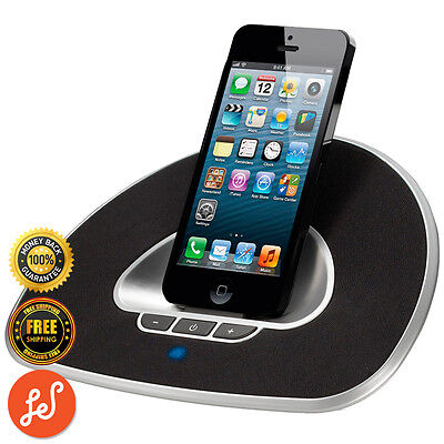 Iphone Ipod Stereo Speaker Dock for iPhone 5 and 6