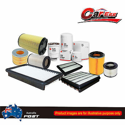 Air Oil Fuel Filter Service Kit For 3.0L turbo diesel Holden Colorado RC 08-12