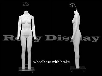 Fiberglass Female Invisible Ghost Mannequin Dress Form Display #MZ-GH5