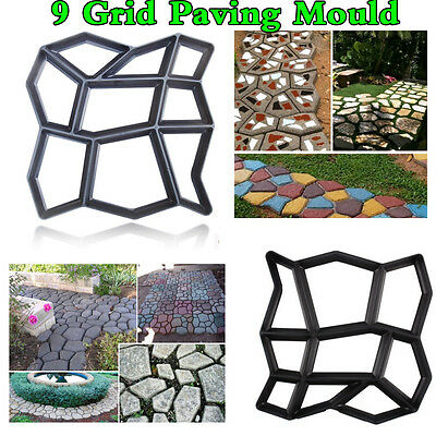 Garden Driveway Paving Brick Patio Concrete Slabs Pathmate Path Walk Maker Mould