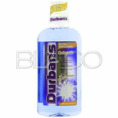 Durbans Colluttorio Ultra Whitening No Alcol - 500 Ml Cura Denti E Gengive