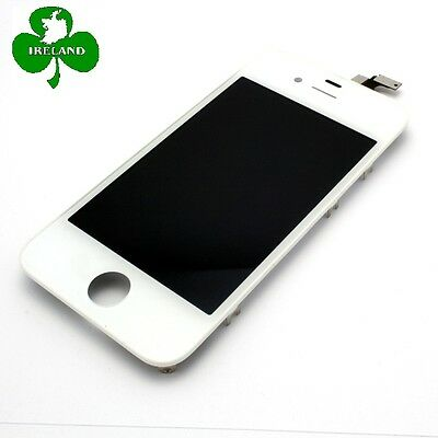 For iPhone 4S LCD Touch Screen Display Digitizer Glass Assembly White