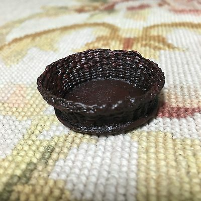 Pat Tyler Dollhouse Miniature Wicker Basket Container 1:12 Home Décor