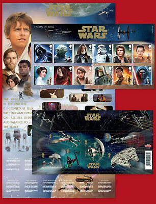 2015 STAR WARS: The Force Awakens - GB Stamp Items each sold separately