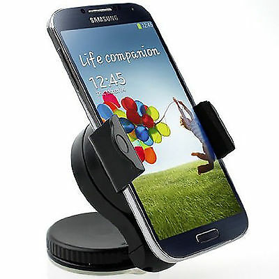 Support Voiture Pour Samsung Galaxy Note 4 Note 3 Note 2 Pare-Brise Ventouse Gps