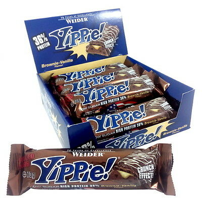 Weider - Yippie! Bar, 12 x 70g Barrita