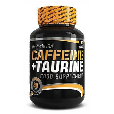 Biotech USA - PowerForce Cafeína + Taurina, 60 cápsulas