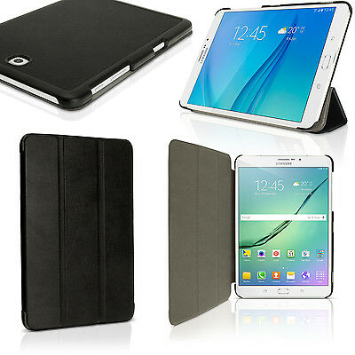 """PU Leather Smart Cover for Samsung Galaxy Tab S2 8"""" SM-T710 Stand Folio Case"""
