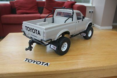 Custom Toyota Rear Decal Sticker for Trailfinder 2 RC4WD Scale Crawler