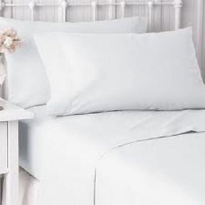 8 New Pillow Cases Covers Standard Size 20''x30'' Bright White T-180 Hotel