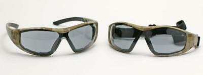 Elvex Go Specs II G2 Safety/Tactical/Shooting Glasses/Goggles Camo Frame Z87.1
