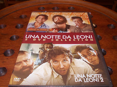 Una notte da leoni 1+2 Collection Box 2 Dvd ..... Nuovo