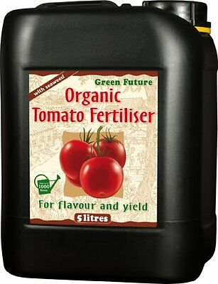 5 Litres - Green Future Organic Tomato Fertilizer -  Nutrients / Feed