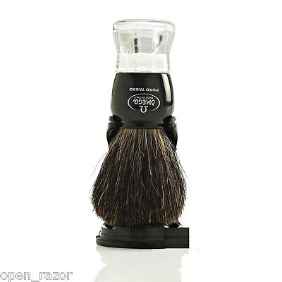 OMEGA 63167 Pure Badger 100% Shaving Brush