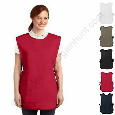 Easy Care Cobbler Apron w/ Stain Release Front Pocket Unisex Adult Crafts Garden