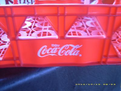 Coca-Cola Vintage Soda Crate Bottle Stackable Caddy Crate Carrier